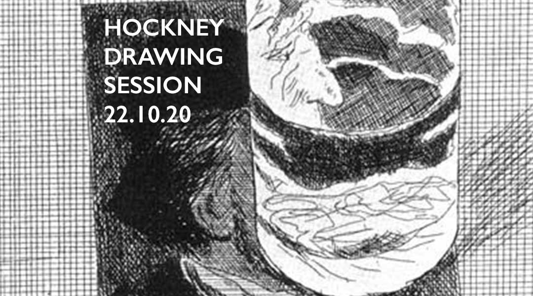 Hockney Drawing Session